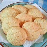 メロンパンのクッキー♪