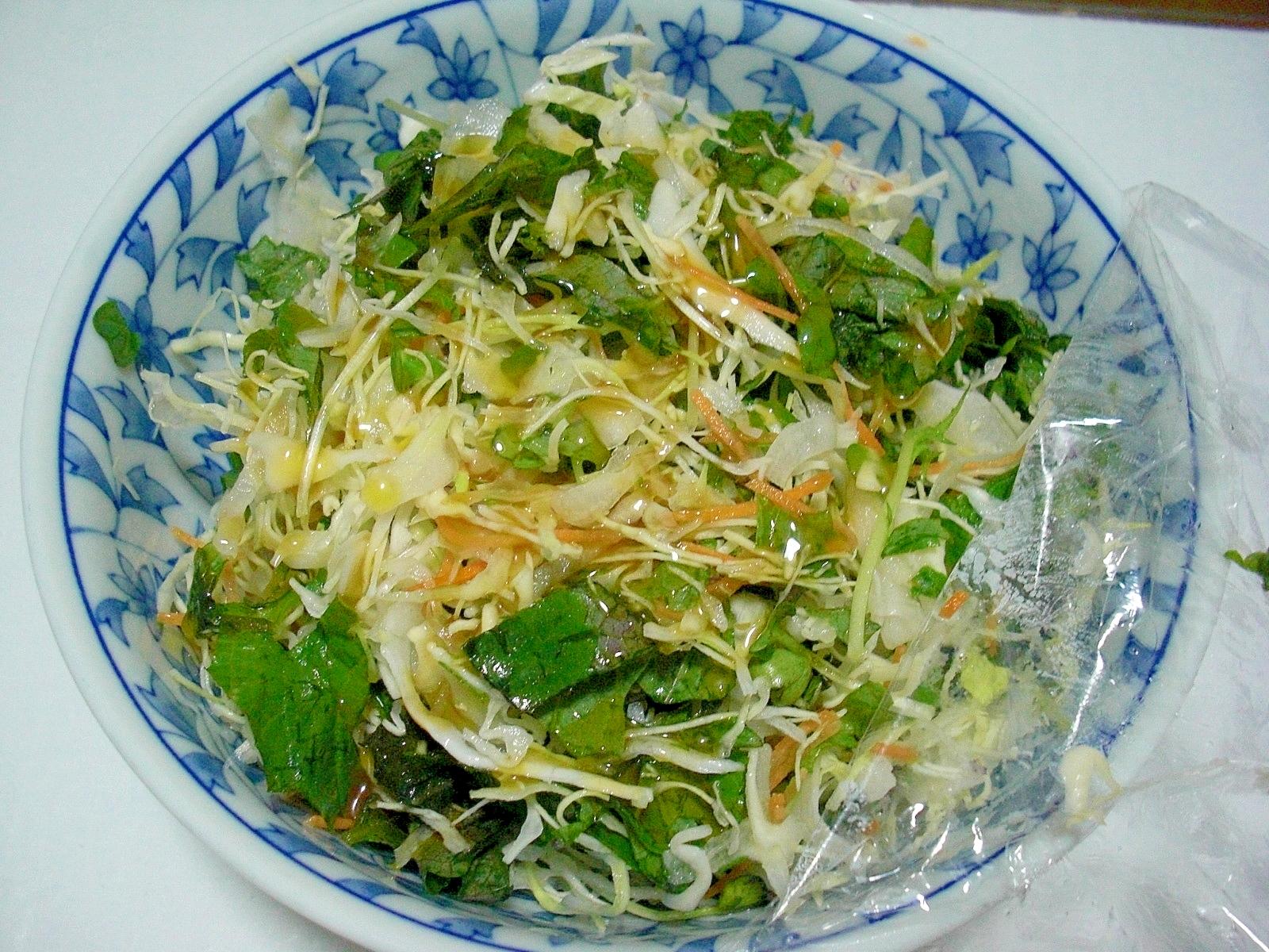 えごま油サラダ