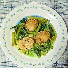 ☆帆立と小松菜の中華炒め☆