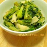 簡単おいしい!野沢菜の味噌炒め風煮物
