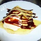 アイスクレープdeチョコバニラ