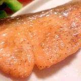 定番☆鮭のムニエル