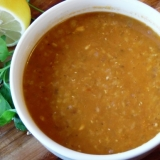 トルコ料理★クミン入りレンズ豆のスープ(マフルタ)