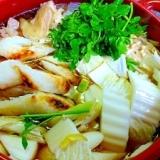 秋田名物!きりたんぽ鍋