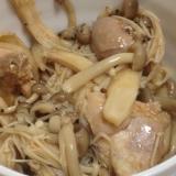 きのこと鶏のキムチ味噌鍋