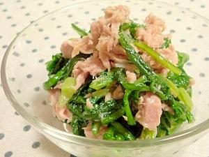 菊菜をおいしく食べちゃうレシピ。おひたしだけじゃつまらない!