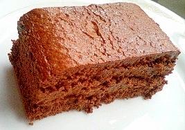 蒸し焼きショコラケーキ 大人レシピ