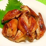 柚子茶とナンプラーde照り照り鶏手羽中