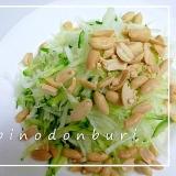 タイ料理 ソムタム(青パパイヤのサラダ)風のサラダ