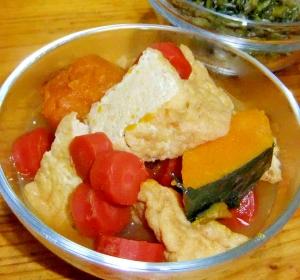 京人参と厚揚げの煮物