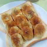 朝から幸せ!バナナシナモントースト