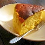 しゅわっと♡濃厚かぼちゃのスフレチーズケーキ