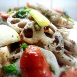 フライパン1つで簡単料理⑦根菜とウインナーの炒め♪
