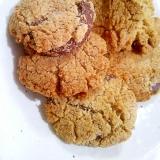【糖質制限】ココナッツ油でチョコクリームクッキー