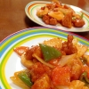 中華の定番料理と鶏肉で!!「酢鶏」献立