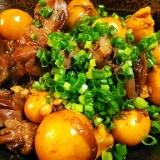 鶏モツ玉ねぎ生姜煮