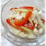 ひんやり~鶏ささみと夏野菜のさっぱりサラダ!