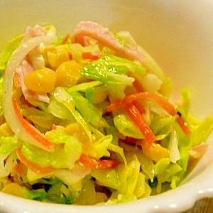 塩麹で作るコールスローサラダ