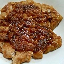 豚ロース肉の和風ソース焼き。