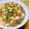 そのままでも美味しい麻婆豆腐をどんぶりに!「麻婆豆腐丼」献立