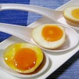 めんつゆde簡単!煮卵(半熟〜固ゆで)