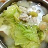 鶏団子入り☆水炊き☆