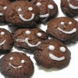 チョコクッキー♪材料3つですぐ焼ける♪