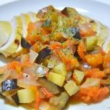 塩、油不用!野菜たっぷりタンドリーチキン