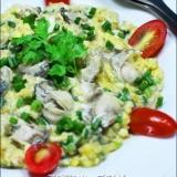 タイ風 牡蠣のとろとろ卵とじ★オースワン