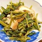 空芯菜のサッと煮