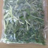 水菜の冷凍保存