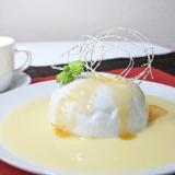 ウフ・ア・ラ・ネージュ(レンジで簡単、卵のお菓子)