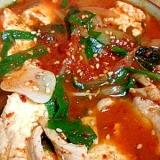 激辛スンドゥブ風スープ
