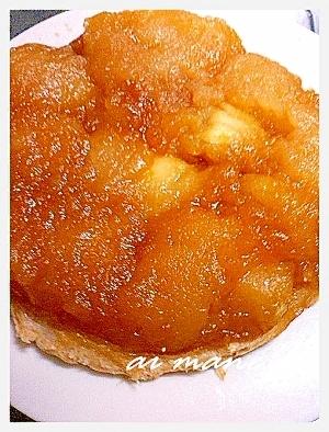 りんごのお菓子!タルトタタン風