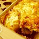 熱々が美味しい☆とろ~りチーズとナスのラザニア♪