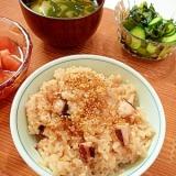 炊飯器で作る☆ぷりぷり感が旨い!「たこ飯」