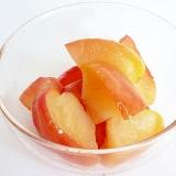 簡単 電子レンジで皮ごと林檎 リンゴのコンポート