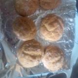 ホットケーキミックスでメロンパン