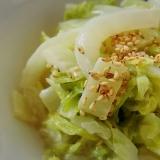 簡単!手軽!白菜のマヨネーズ&麺つゆ和え
