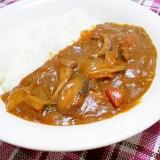 白菜ときのこの和風カレー