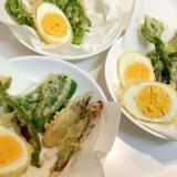 茹で卵☆天ぷら
