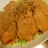 野菜た〜ぷり☆豚生姜焼き