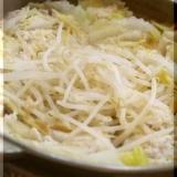 塩麹と生姜で免疫効果ばっちりの白菜と豚バラ鍋♪
