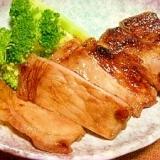 豚肉の甘味噌漬け