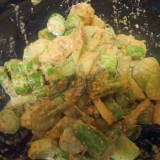 ウドの味噌マヨサラダ