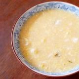 スープジャーで簡単♪ みそ卵雑炊