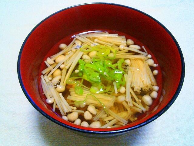 えのきだけっ簡単和風スープ♡