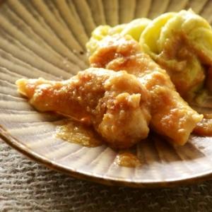 鶏胸肉も柔らか☆鶏肉のごまみそ照り焼き