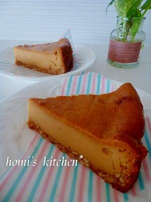 キャラメル♪ベイクドチーズケーキ