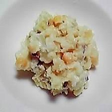 さつま芋とコーンのサラダ